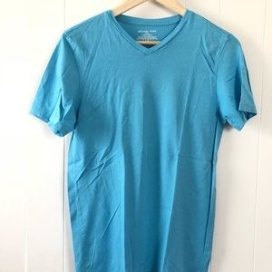 Set of blue Michael kors T-shirt's sz Small
